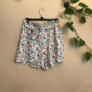Alcott Flowy High Waisted Shorts
